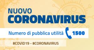 Informazioni e aggiornamenti sul nuovo corona virus