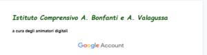 Regole per un utilizzo corretto dellaccount google