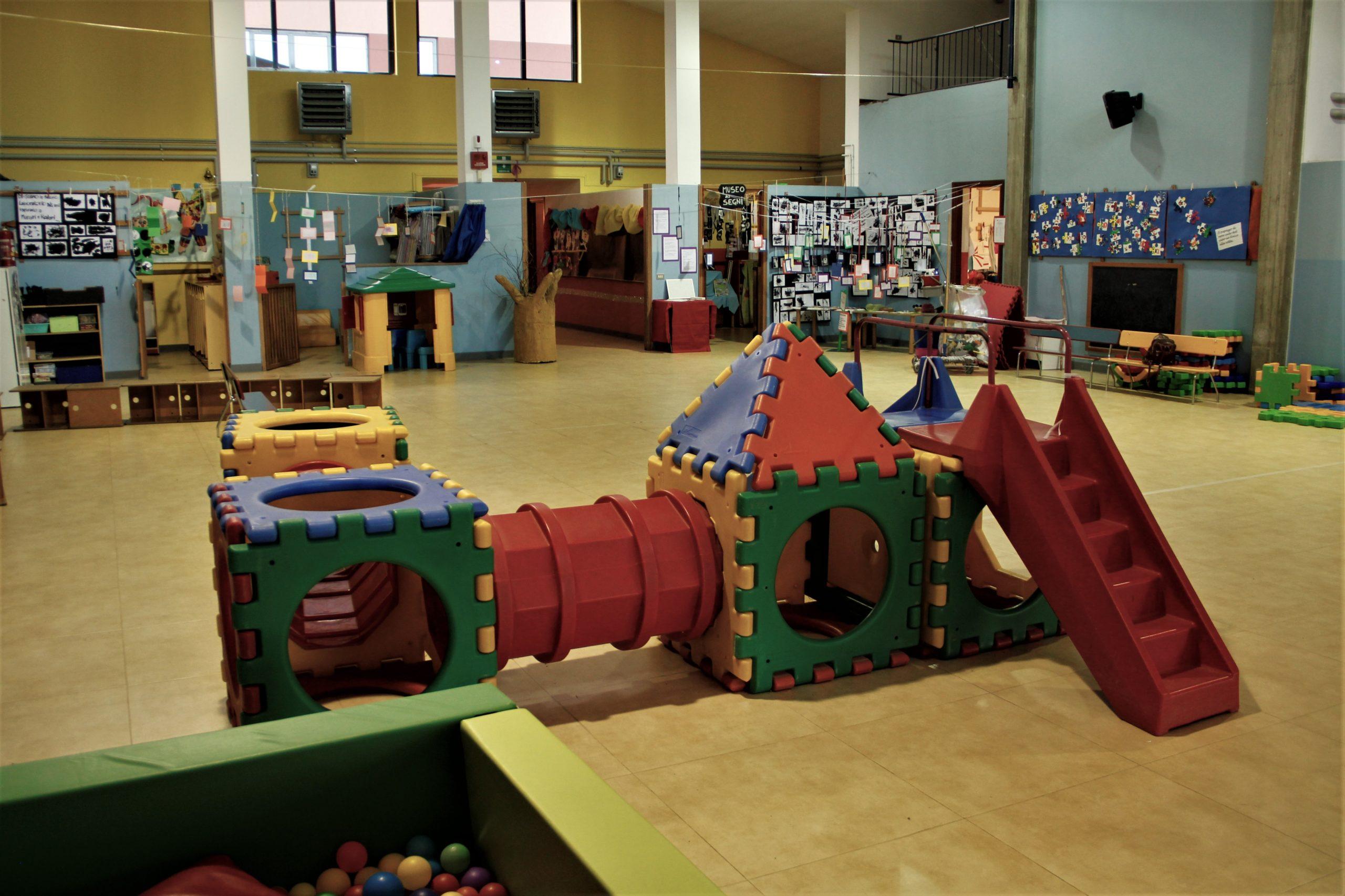 Interno della scuola dell'infanzia di Montevecchia