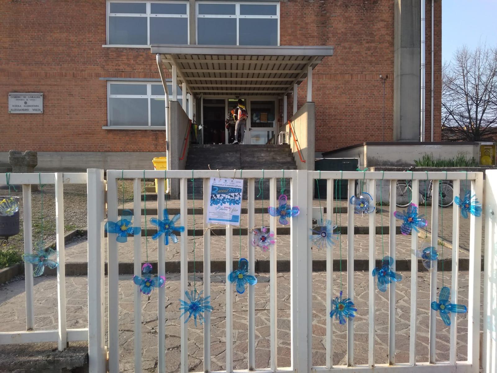 I fiori al cancello